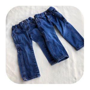 6/$15 2T Carter's Boys 2 Jeans